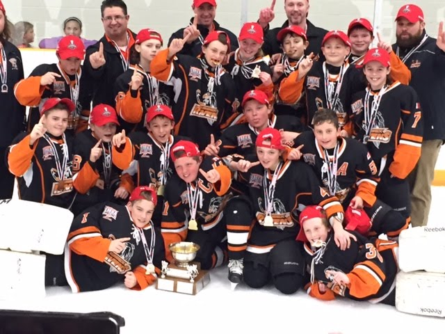 Essex PeeWee Minor OMHA Champs